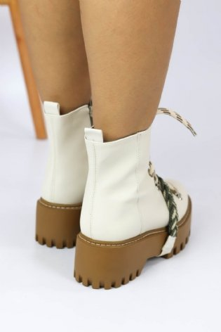 Bota Fefa Off White