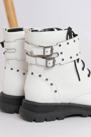 Bota Olga Off White